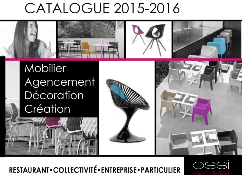 Image de l'article 'CATALOGUE 2015-2016 OSSI DESIGN'