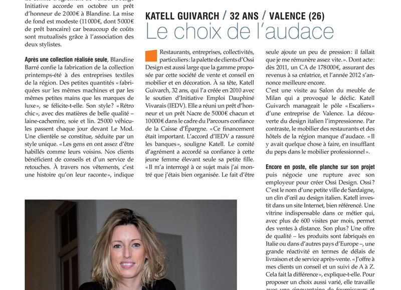 Image de l'article 'FRANCE INITIATIVE – OCTOBRE 2012'